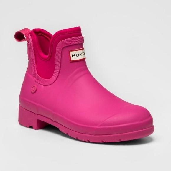 62f0f450568 HUNTER X TARGET Rain Boots